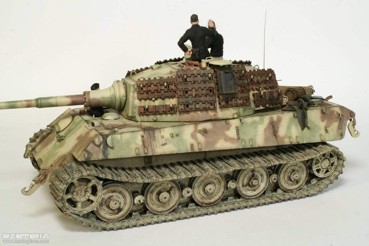 虎王重型坦克 涂装_德国虎王重型坦克(威龙)_静态模型爱好者--致力于打造最全的 ...