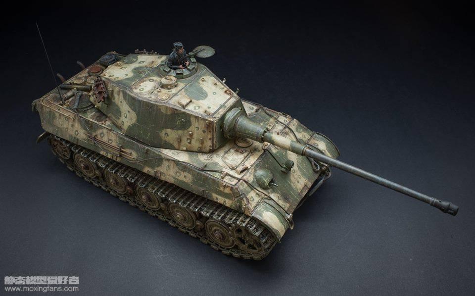虎王重型坦克 涂装_虎王_静态模型爱好者--致力于打造最全的模型评测网站