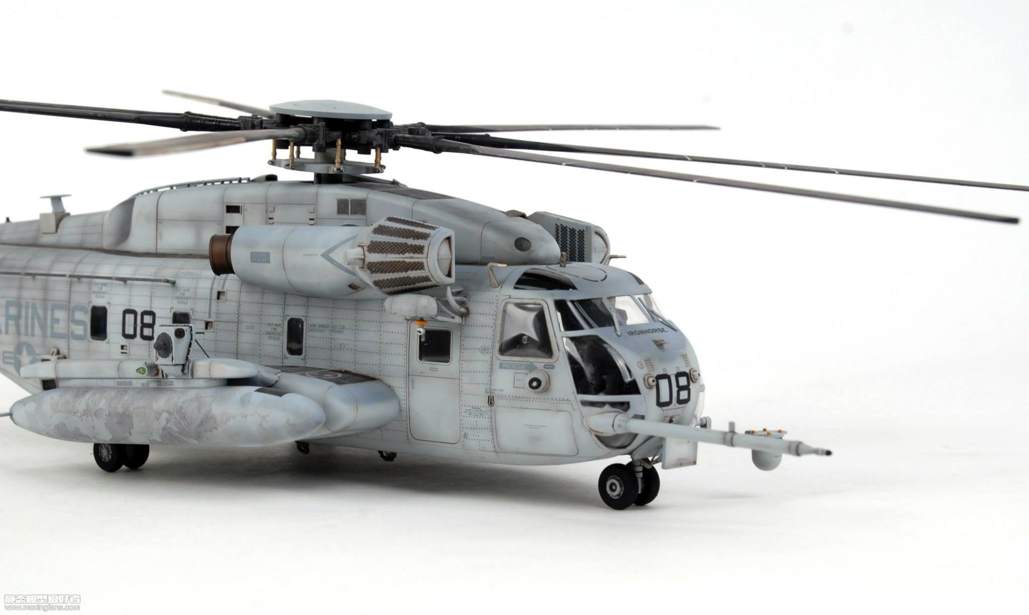 美国ch-53e超级种马直升机(爱德美)