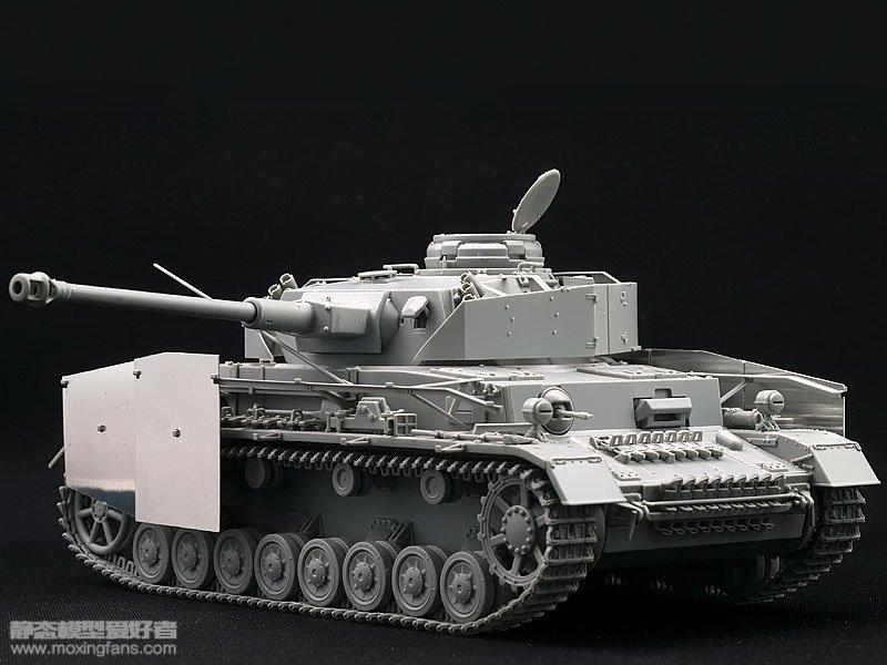 德国4号坦克_【威龙 6594】德国四号坦克G型1943年型评测(素组)_静态模型爱好 ...