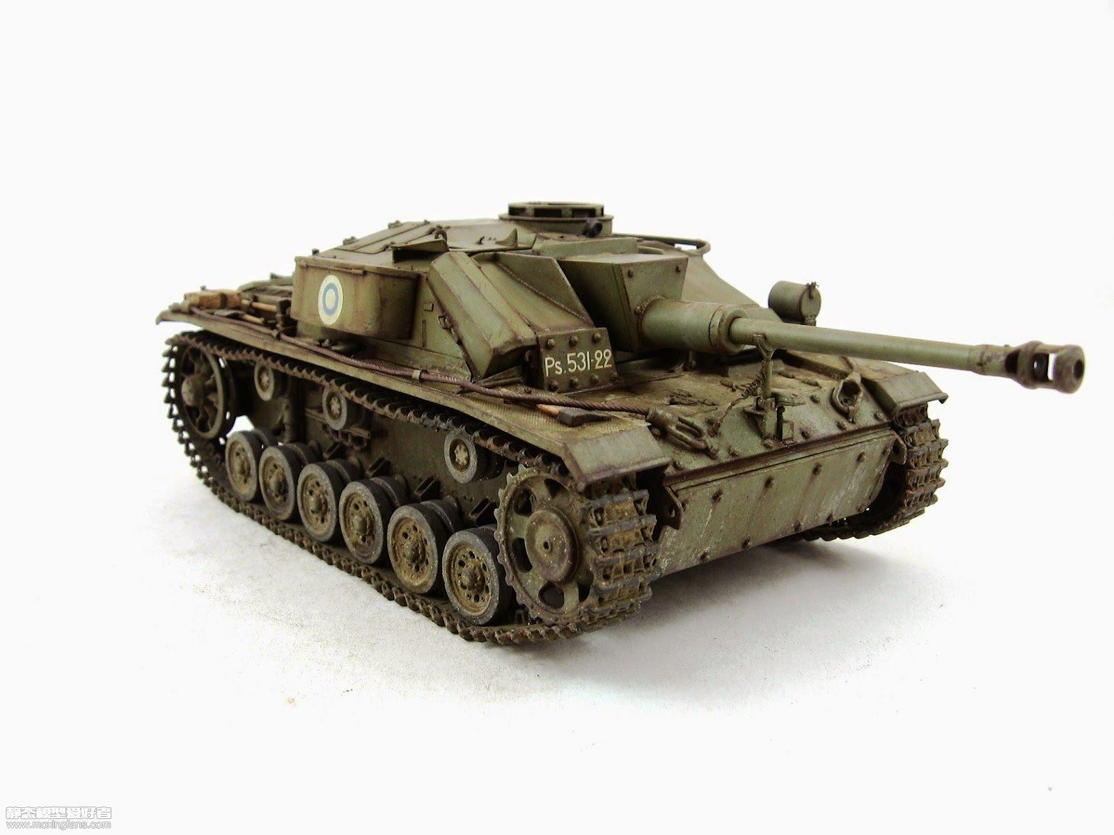 95突击车_Sturmi50--三号突击炮芬兰型(威龙)_静态模型爱好者--致力于打造 ...