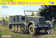 【威龙 6466】1/35 德国Sd.Kfz.7/1 8吨半履带运兵车初