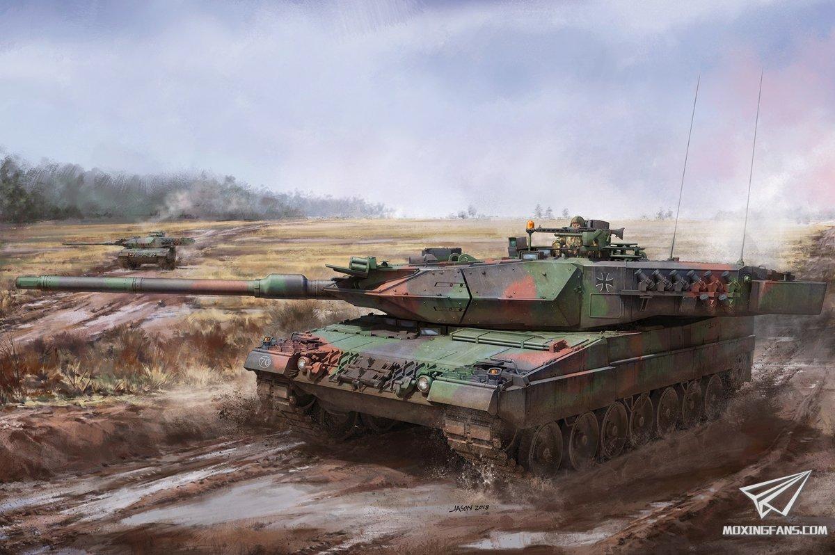 德国豹2a7_【边境 BT-002】1/35 德国豹2A5A6 3合1 开盒评测_静态模型爱好者 ...